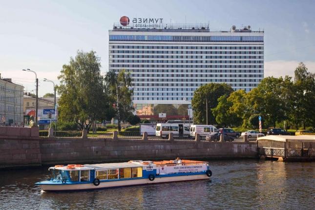 AZIMUT Отель Санкт-Петербург присвоена категория «Четыре звезды»