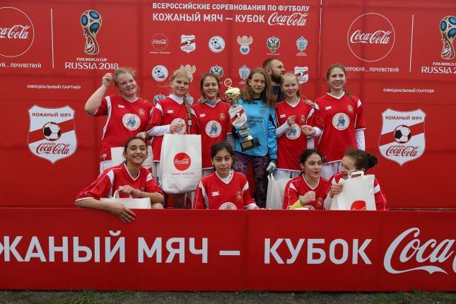 В Королёве прошли финальные игры второго этапа Всероссийского турнира «Кожаный мяч — Кубок Coca-Cola»